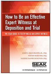 effective expert witness at deposition
