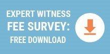 Expert Witness Fee Survey