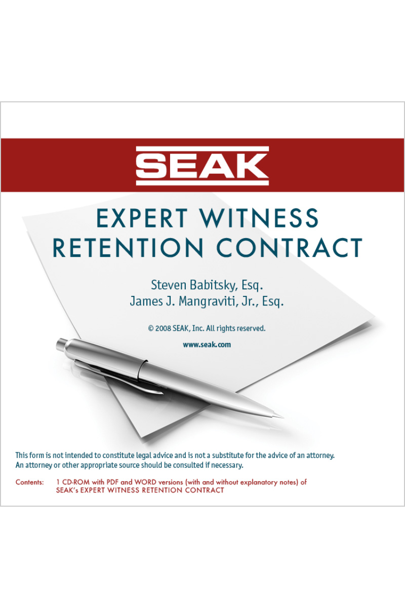 Expert Witness Contract